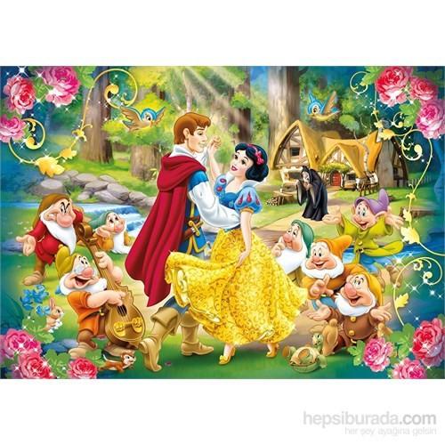 Pamuk Prenses Ve Yedi Cüceler Puzzle (Clementoni 24 Parça Maxi Boy)