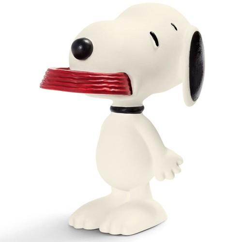Schleich Snoopy Ve Frizbi Figür