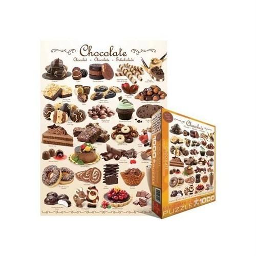 Eurographics Puzzle 1000 Parça Chocolate 6000-0411