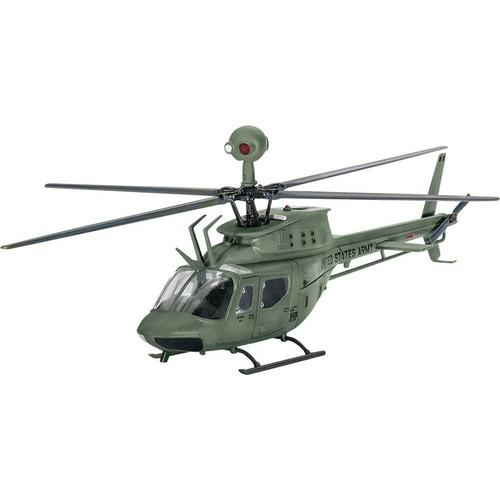 Revell 04938 Bell Kiowa Model Helikopter (1:72 Ölçek)