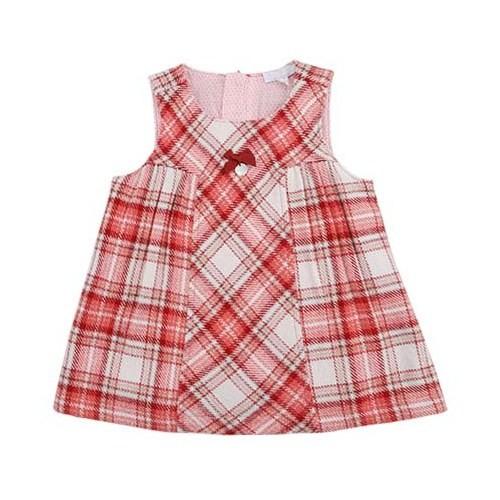Zeyland Kız Çocuk Kareli Elbise K-52M2mhz33