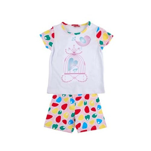 Zeyland Kız Çocuk Desenli Pijama Takimi K-42Z2pjm35