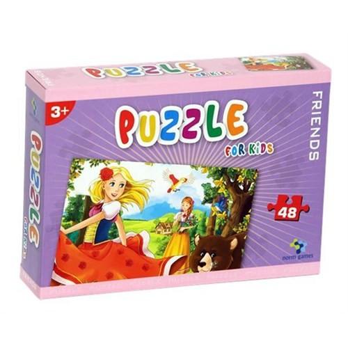Gizzy Friends 48 Parça Çocuk Puzzle