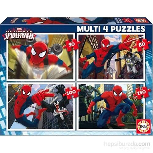 Educa Ultimate Spider-Man-4İn1 Puzzle
