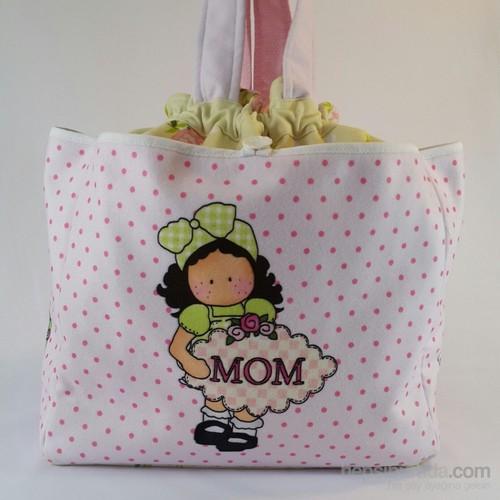 Zey Tasarım Bebek Bakım Çantası - Mom