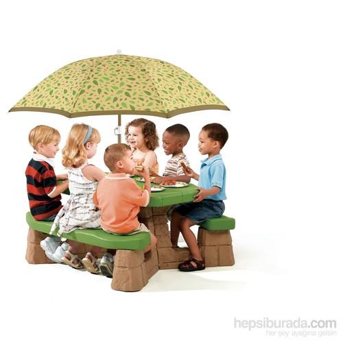 Step2 Şemsiyeli Piknik Masası