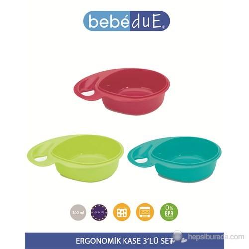 Bebedue Ergonomik Kase 3'Lü Set