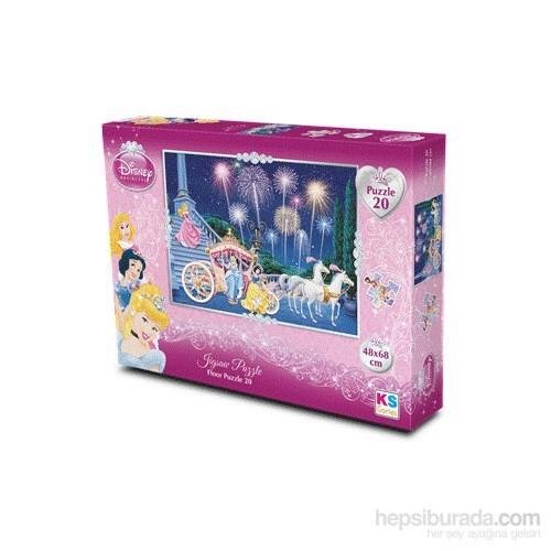 Disney Princess Yer Puzzle (Yapboz) 20 Parça