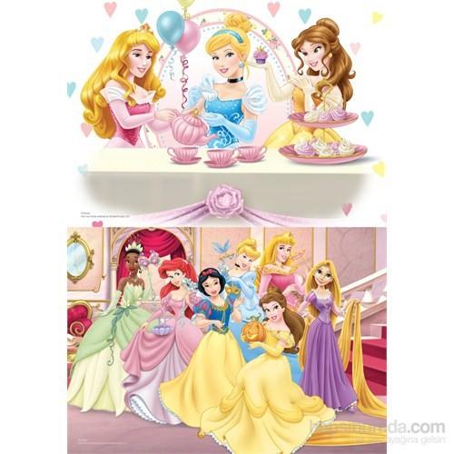 Disney Princess - Puzzle (Yapboz) 2'si 1 arada (35+60 Parça)