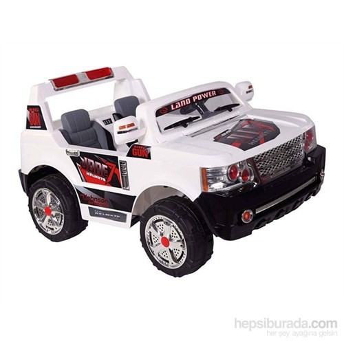 Babyhope JJ-205 Land Power Jeep T (Beyaz)