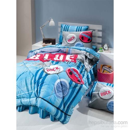 Kupon Tek Kişilik Uyku Seti Blue Jeans