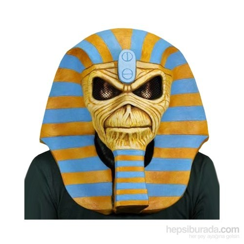Iron Maiden Powerslave Limited Edition Latex Mask