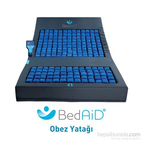 BedAiD® Obez / Bariatrik Hasta Yatağı 140x200x15 cm