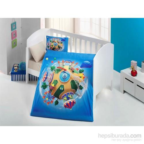 Evimemoda 3D Bebek Uyku Seti - Blue
