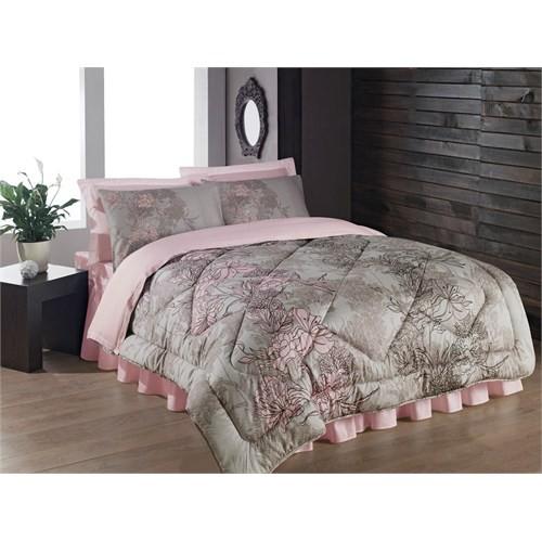 Cotton Box Saten Uyku Seti Çift Kişilik - Gümüş Bej