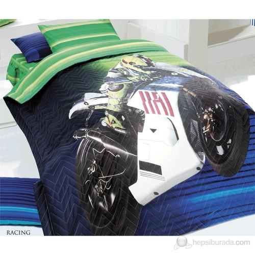 Kupon Racing Tek Kişilik Dört Mevsim Seti