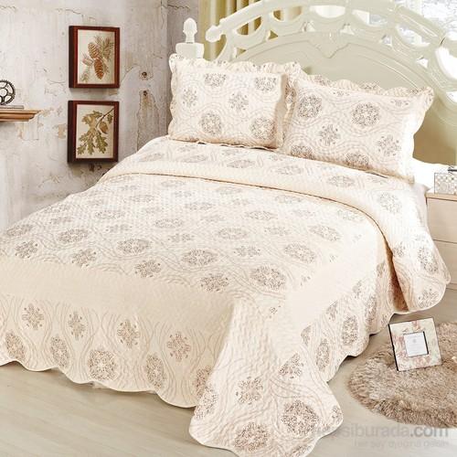 Cotton House Home Collection Nubuk Çift Kişilik Yatak Örtüsü - Kanta