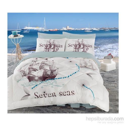 Cotton Box Maritime Çift Kişilik Uyku Seti - Seven Seas