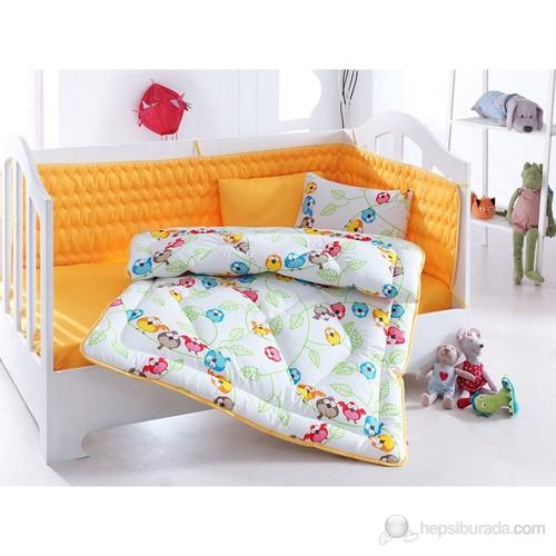 Cotton Box Bebe Uyku Seti - Cikcik Sarı