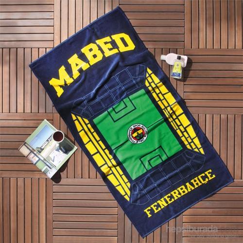 Taç Lisanslı Fenerbahçe Mabed Plaj Havlusu