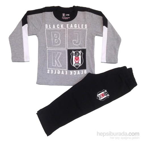Beşiktaş Krtlyvs Lisanslı Eşofman Takımı-Gri