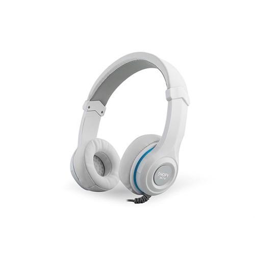Snopy Sn-718 Beyaz Mikrofonlu Kulaklık