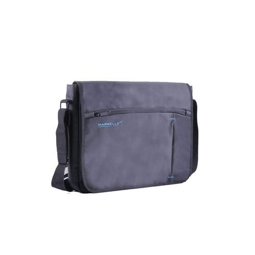 K8303w Siyah ve Mavi Marwells Laptop ve Evrak Çantası