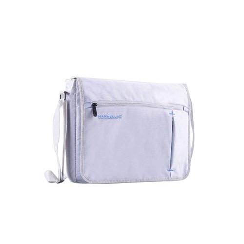 K8303w Gri ve Mavi Marwells Laptop ve Evrak Çantası