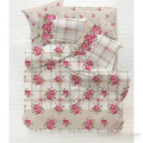 Evlen Home Collection Rose Çift Kişilik Pike Takımı - 4 Parça