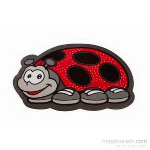 Giz Home İtalyan Sempatik Kapı Paspası 40X68 Uğur Böceği