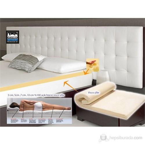 Aircomfort Visco Şilte 3 cm 80x190-1 Adet Visco Air Neck Yastık Hediye