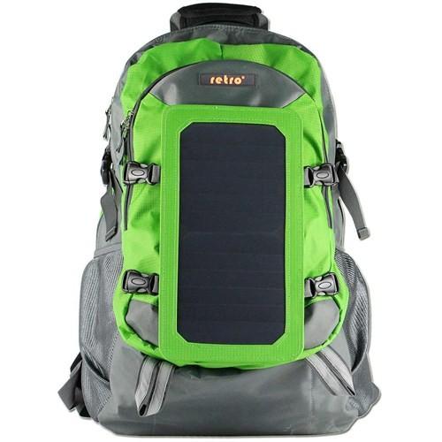 """Retro Solar 15.6"""" 7Watt 45L Yeşil Sırt Çantası (RET-101G)"""