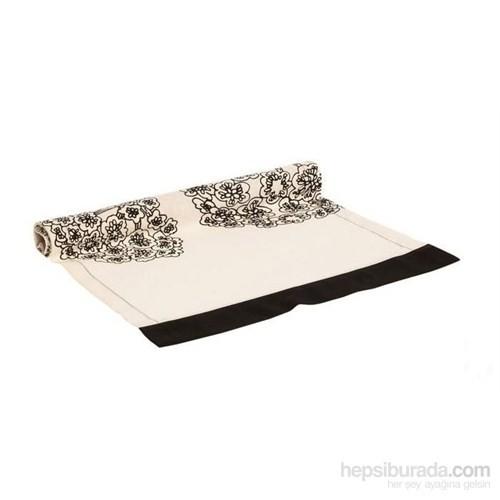 Yastıkminder Koton Siyah Beyaz Runner