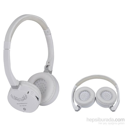 Goldmaster HP193BT Kulaküstü Beyaz Bluetooth Kulaklık