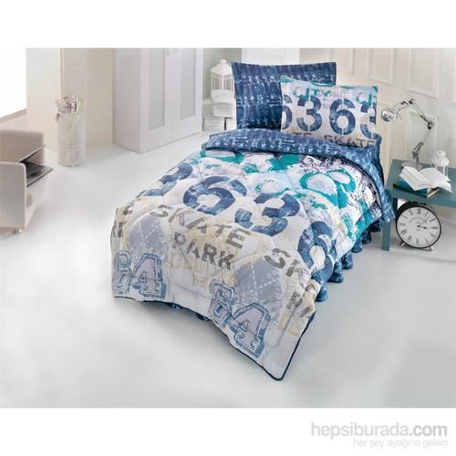 Cotton Box Genç Uyku Seti Tek Kişilik - Urban Lacivert
