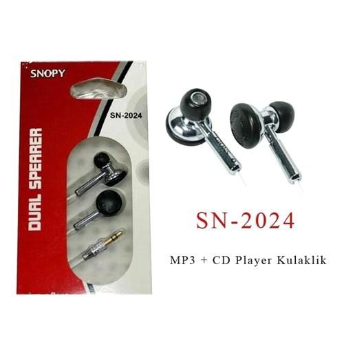 Snopy Sn-2024 Mp3+Cd Oynatıcı Kulaklık