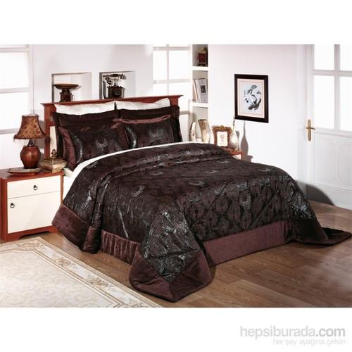 Monabianca Lüx İşlemeli Yatak Örtüsü-Anastasia