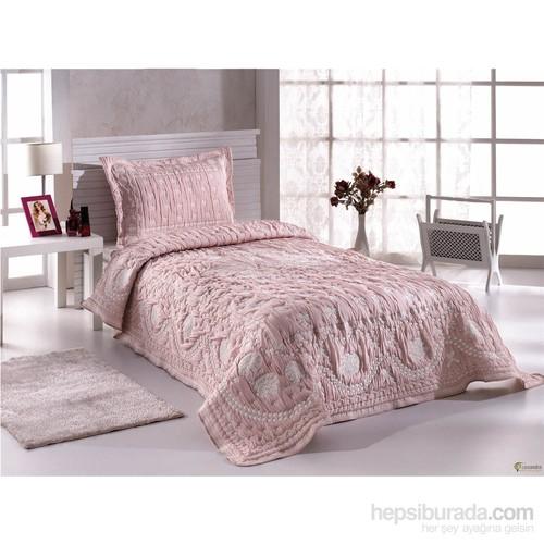 Casandra Dreams Tek Kişilik Chatty Pink Yatak Örtüsü