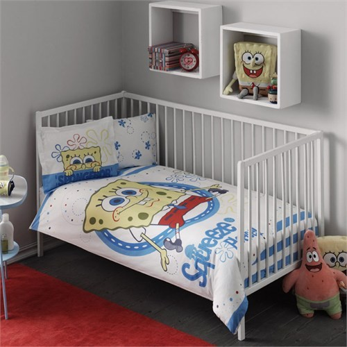 Taç Bebek Nevresim Takımı - Sponge Bob
