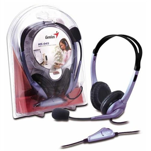 Genıus Hs-04S Microfonlu Kulaklık