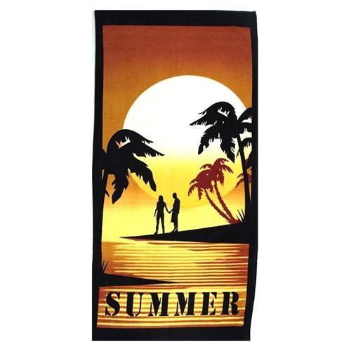 Summer Desenli Plaj Havlusu P5205