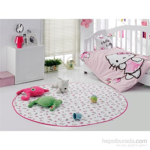 Hello Kitty Antibakteriyel Sıvı Geçirmez Bebek Oyun Alanı Magnolıa