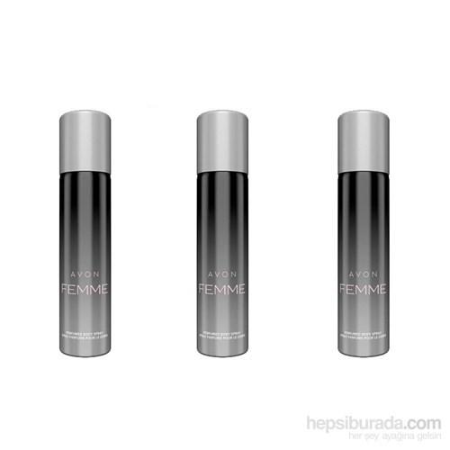 Avon Femme Kadın Deodorant 3Lü Avantaj Seti