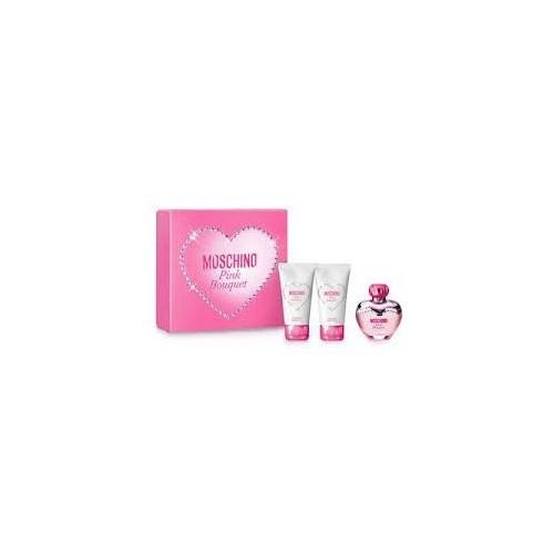 Moschino Pink Bouquet Edt 50 Ml - Bayan Parfüm Set
