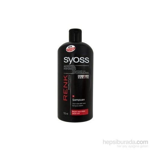 Syoss Renk Koruyucu 750Ml Boyalı Ve Röfleli Saçlar İçin Sampuan