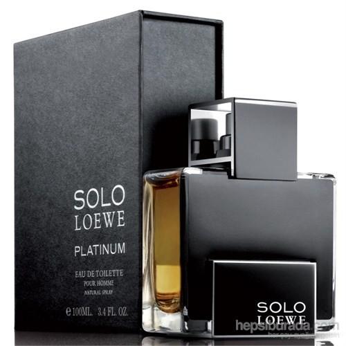 Loewe Solo Platinum Edt 100 Ml Erkek Parfümü