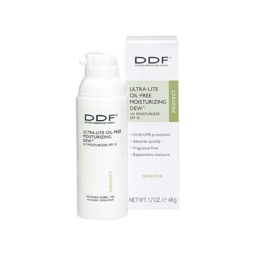 DDF Ultra Lite Oil Free Moisturizing Dew SPF 15 48gr - Hassas Yağlı Ciltler İçin Güneş Koruma Faktörlü Nemlendirici