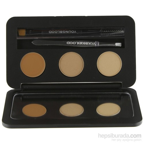 YOUNGBLOOD Brunette Brow Kit (19002)