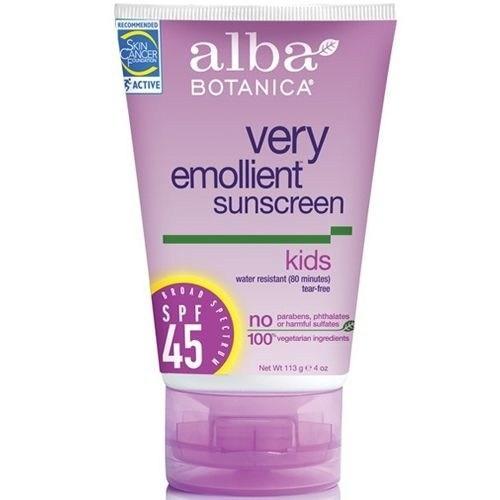 Alba Botanica Very Emollient Sunscreen - Kids Broad Spectrum Spf45