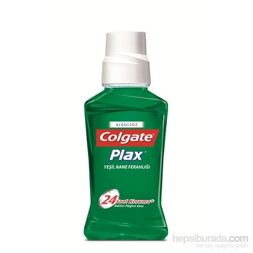Colgate Plax Ağız Bakım Suyu Yeşil Nane Ferahlığı 250 Ml -Alkolsüz